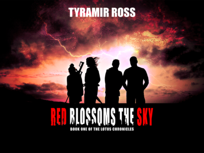 New Book: Red Blossoms the Sky — WIN A COPY!