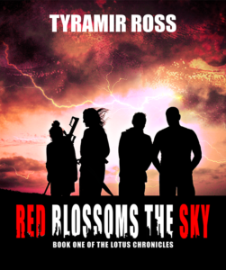 Red Blossom The Sky Novel By Tyramir Ross